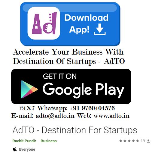 adto destination for startups